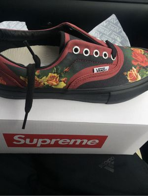 Supreme Vans Jena Gaultier Size 9 for Sale in Fort Worth, TX