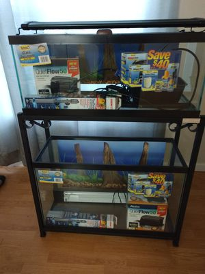 Aquarium 29g & 20L for Sale in Woodbridge, VA
