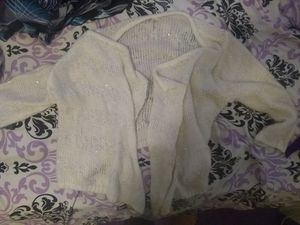 Cardigan gold color with sparkles for Sale in Beaver Falls, PA