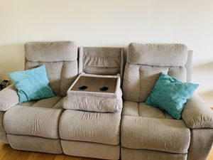Sofa with recliners for Sale in Westminster, CO