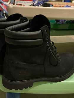 Men's Timberland Black 6 Inche Boots 10.5 for Sale in Huntingdon Valley,  PA