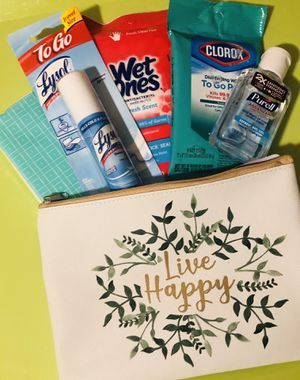 Lysol to Go Live Happy Travel Kit with Clorox for Sale in Beverly Hills, CA