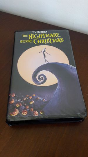 The Nightmare Before Christmas VHS Classic for Sale in Riverside, CA