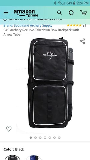 SAS archery backpack for Sale in Modesto, CA