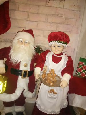 Electronic Santa a and Mrs clause for Sale in Wichita, KS