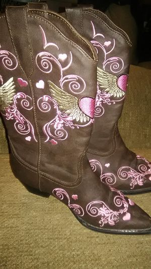 Roper girls boots for Sale in Union City, PA