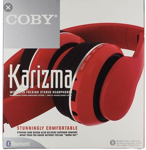 Coby wireless headphones for Sale in Durham, NC
