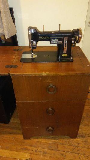 Necchi Model BU Sewing Machine for Sale in Pittsburgh, PA