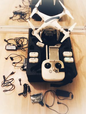 DJI pro Advanced drone +5 battery packs (may sell separately) +case for Sale in Costa Mesa, CA
