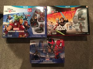 Wii U Disney Infinity new set bundle Nintendo for Sale in Lake Stevens, WA