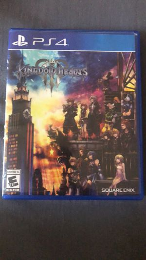 Kingdom hearts 3 ps4 for Sale in Coral Springs, FL