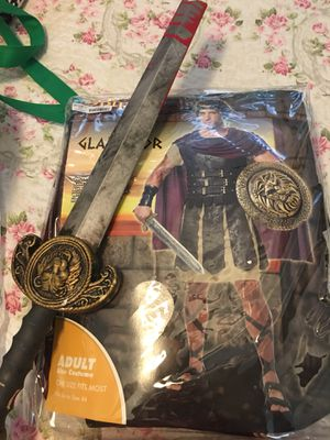 gladiator costume for Sale in Port St. Lucie, FL