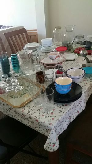 collective moving sale kitchen items mostly valuable Glasses for Sale in Denver, CO