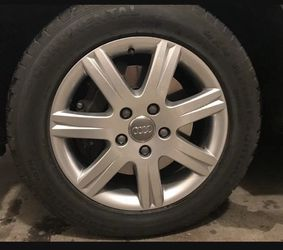 Winter wheel and tire package 2010 to 2015 Audi Q7 free store and install in Audi Wilsonville dealer for Sale in Tualatin,  OR