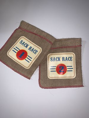 """18"""" doll sack race bags for Sale in Midland, TX"""