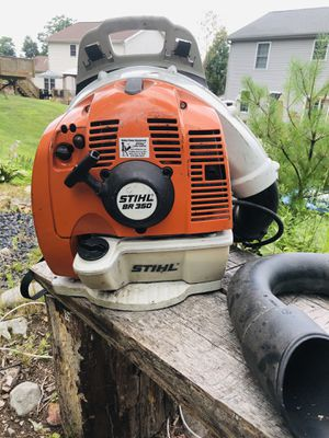 Stihl BR350 backpack blower with attachments for Sale in Mountain Top, PA