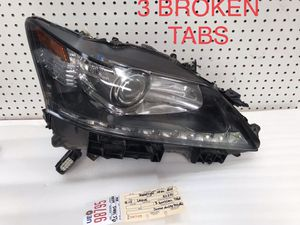 2013 2014 2015 LEXUS GS340 GS450H RIGHT SIDE XENON HEADLIGHT OEM for Sale in Compton, CA