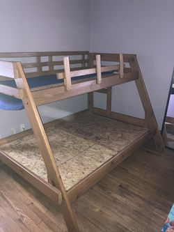Bunk Bed Frame ( Wood) for Sale in Cleveland,  OH