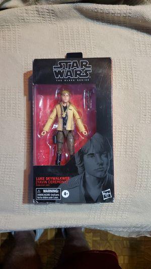 New Star Wars Black Series Luke Skywalker (Yavin Ceremony) Figure. for Sale in Glendale, AZ