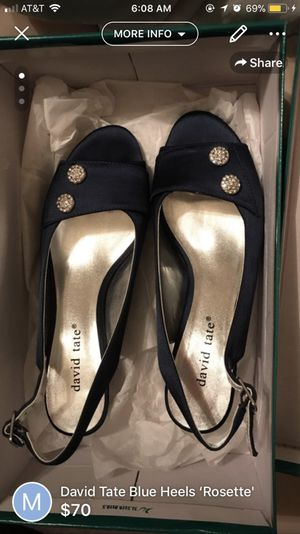 """David Tate Blue Heels 'Rossette"""" for Sale in Rolla, MO"""