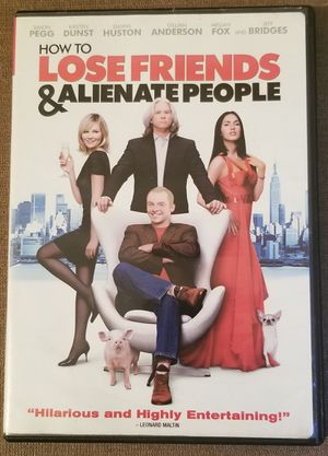How to Lose Friends & Alienate People dvd movie for Sale in Three Rivers, MI