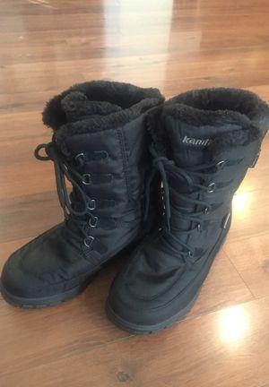 Kamik dridefense tech winter boots - women's size 7 for Sale in Buckeye, AZ