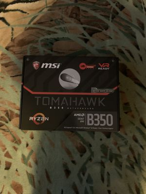 MSI Tomahawk B350 Motherboard (Read Description) for Sale in Saint Peter, MN