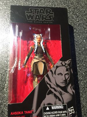 Ahsoka Tano Action Figure, 6 Inch Star Wars Black Series collectible figure Rebels and Clone wars for Sale in Queens, NY