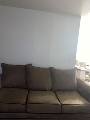 Microfiber Couch for sale! Good condition for Sale in Dearborn, MI