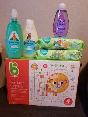 Babyganics size 4 for Sale in Marysville, WA