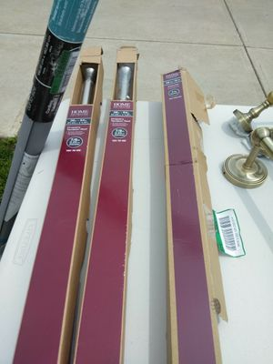 Home decorations shower rods for Sale in Cleveland, OH