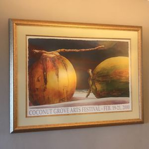 Coconut Grove Arts Festival Feb 19-21 2000 Framed Picture for Sale in Fort Myers, FL