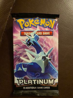 2 Pokemon Platinum Base Set Sealed Booster Pack for Sale in Selma, TX