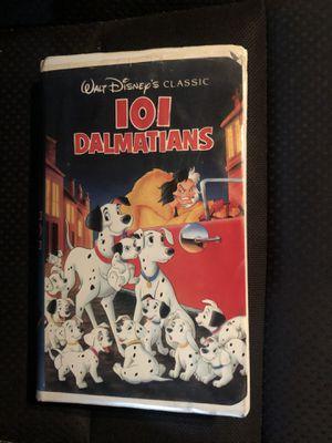 Disney vintage 101 Dalmatians Black Diamond vhs Collectible for Sale in Culver City, CA