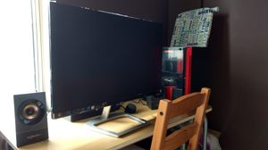 Desktop PC with monitor and speakers for Sale in Sterling, VA