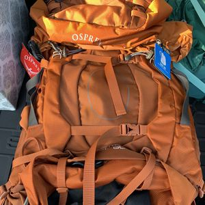 Osprey Camping Overnight Backpack for Sale in Carlsbad, CA