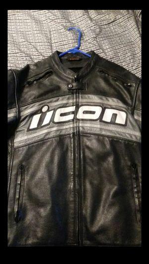 Icon motorcycle jacket for Sale in San Bernardino, CA