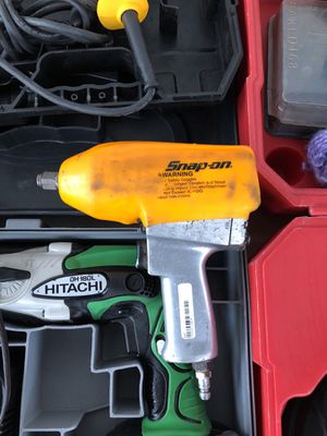 Snap on air impact wrench for Sale in North Las Vegas, NV