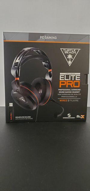 Turtles Beach Elite Pro Tournament Edition headset for Sale in Chula Vista, CA