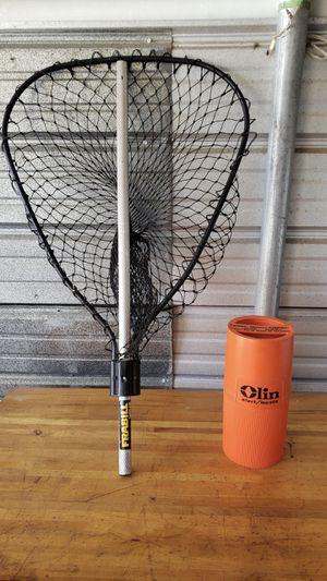 Olin Emergency Boating Flares & Hand fishing net for Sale in Deltona, FL