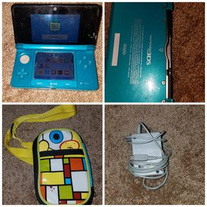 Nintendo 3ds with case and charger for Sale in University Place, WA