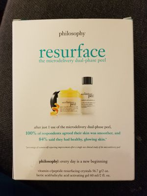 Philosophy Resurface the microdelivery dual-phase peel for Sale in San Francisco, CA