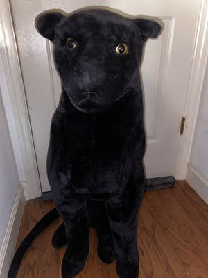 Stuffed Animal Black Leopard for Sale in Mount Dora, FL
