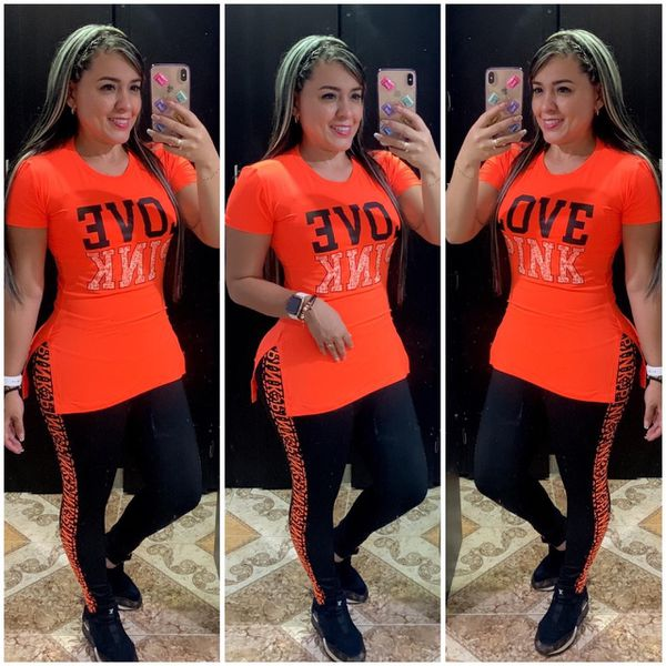 Sport leggings and T-shirt set colombiana product