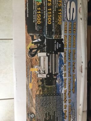 Brand new 11,500 winch with wireless setup for Sale in Lake Mary, FL