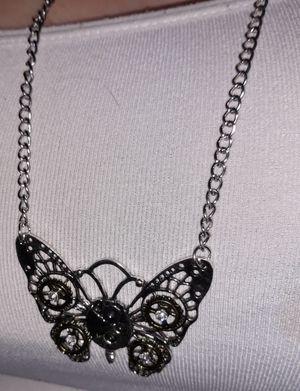 Steampunk butterfly necklace for Sale in Glen Burnie, MD