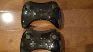 Wii U (2l Pro style Controllers for Sale in Secaucus, NJ