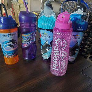SeaWorld Refillable Cups for Sale in Menifee, CA