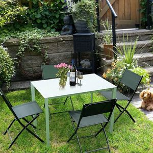 Set Of 4 Outdoor Patio Folding Sling Chairs for Sale in Hacienda Heights, CA