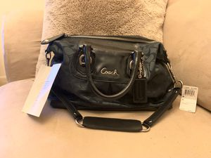 Coach Ash Sig Satin Handbag Brand New 👜 for Sale in Columbia, MD